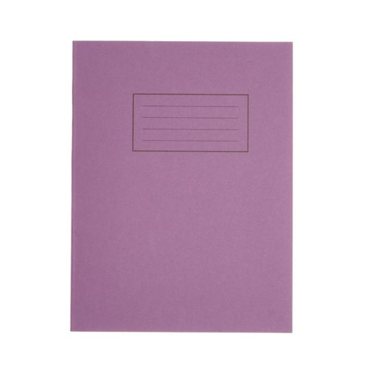 Silvine Exercise Book 9 Inch x 7 Inch 80 Page Ruled 75gsm