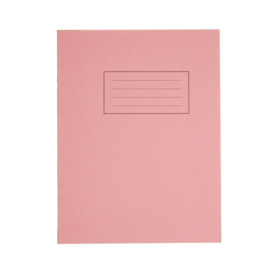 Silvine Exercise Book 9 Inch x 7 Inch 80 Page Plain 75gsm