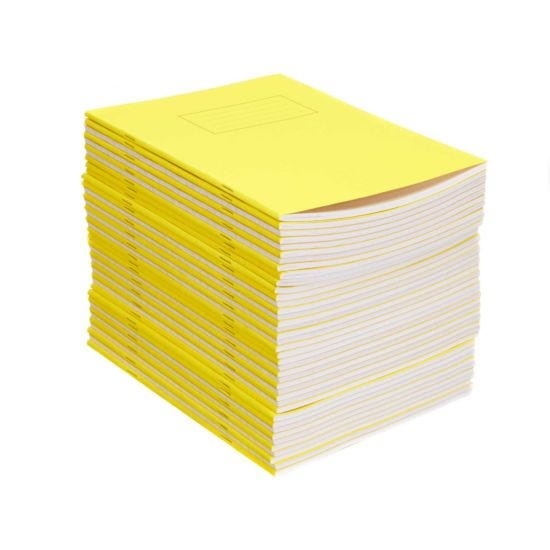 Silvine Exercise Book 9 Inch x 7 Inch Ruled 75gsm Pack of 40 Yellow