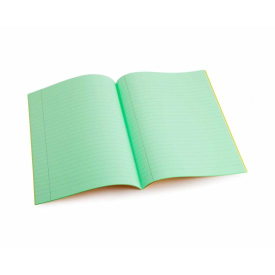 Tinted Exercise Books Lined A4 10mm Apple Green