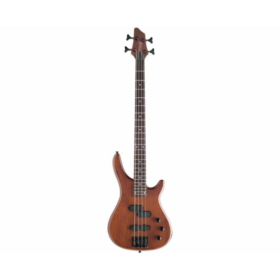 Stagg BC300 4 String Electric Bass Guitar Walnut