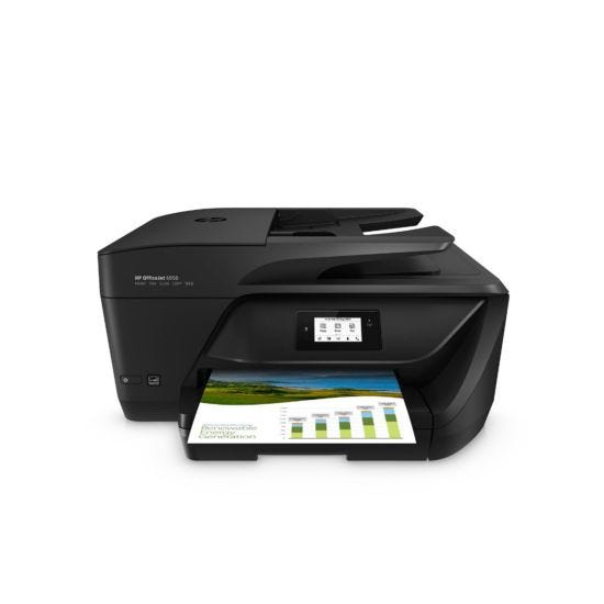 HP OfficeJet 6950 All in One Wireless Inkjet Printer with Fax with Free 2 Month Instant Ink Trial
