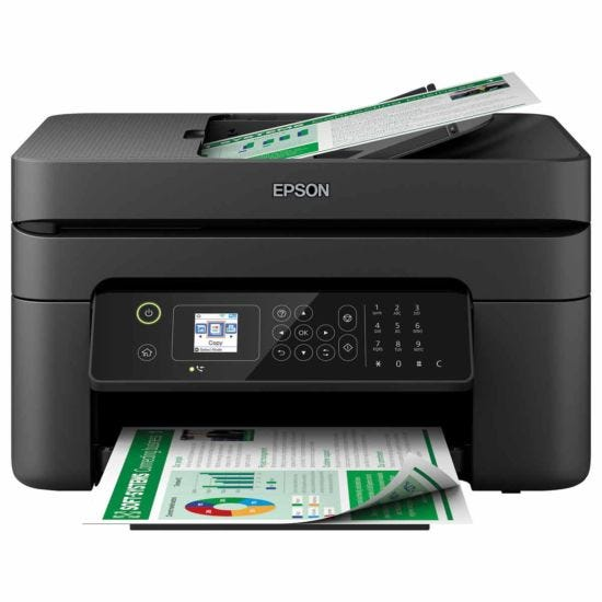Epson WorkForce WF-2830DWF All in One Wireless Inkjet Printer ReadyPrint Compatible