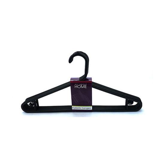 Coat Hangers Plastic Pack of 8