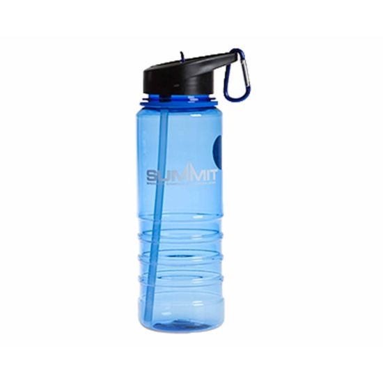 Summit Water Bottle with Carabiner 700ml Blue