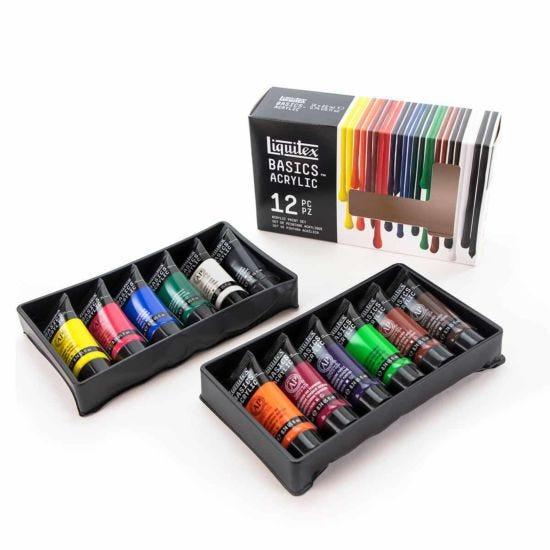 Liquitex Basics Acrylic Paint 22ml Set of 12