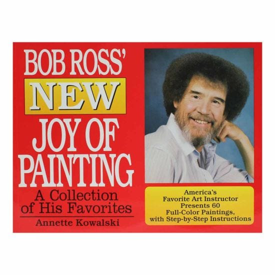 Bob Ross New Joy of Painting Book