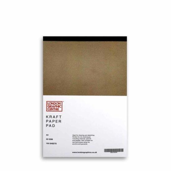 London Graphic Centre Kraft Paper Pad A4