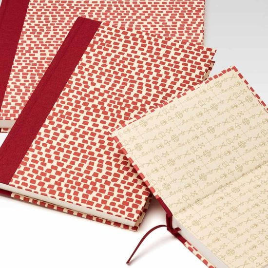 Fabriano Venezia Hardcover Sketchbook 48 Sheets - 15cm x 23cm