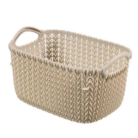 Curver Knit Storage Basket 3 Litres
