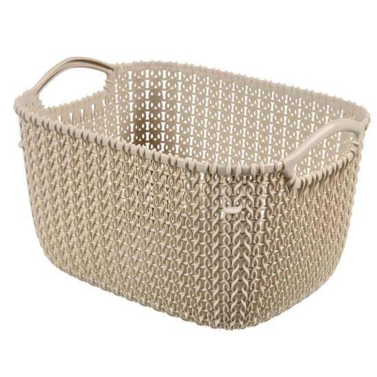 Curver Knit Storage Basket 8 Litres