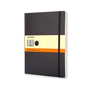 Moleskine Soft Cover Ruled Notebook Extra Large 192 Pages 96 Sheets
