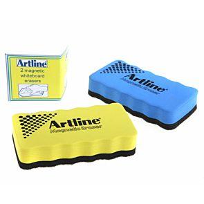 Artline Eraser Whiteboard Magnetic Pack of 2