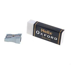 Helix Oxford Eraser with Sharpener