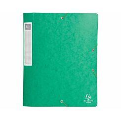 Exacompta Cartobox Box File A4 40mm Pack of 10 Green