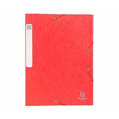 Exacompta Cartobox Box File A4 40mm Pack of 10 Red