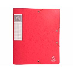 Exacompta Cartobox Box File A4 60mm Pack of 10 Red