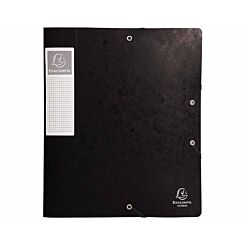 Exacompta Cartobox Box File A4 60mm Pack of 10 Black