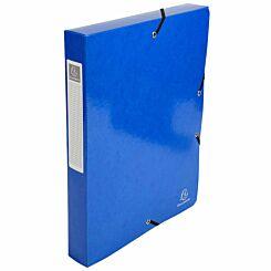 Exacompta Iderama Box File A4 Pack of 8 600gsm Dark Blue
