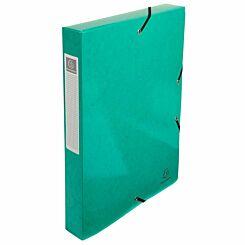 Exacompta Iderama Box File A4 Pack of 8 600gsm Dark Green