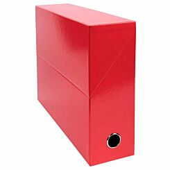 Exacompta Iderama Filing Box 90mm Pack of 5 Red