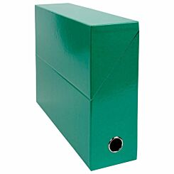 Exacompta Iderama Filing Box 90mm Pack of 5 Dark Green