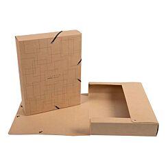 Exacompta Eterneco Filing Box Cardboard S60mm Assorted Pack of 8