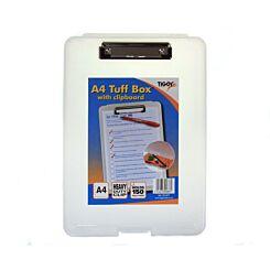Tiger A4 Tuff Box With Clipboard