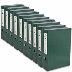 Ryman Premium Box File Foolscap Pack of 10 Racing Green