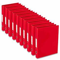 Ryman Premium Ring Binder A4 Pack of 10 Red