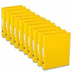 Ryman Premium Ring Binder A4 Pack of 10 Yellow