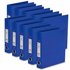 Ryman Premium Ring Binder A5 Pack of 10 Royal Blue