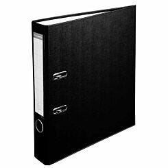 Exacompta Lever Arch File A4 PP 50mm Pack of 20 Black