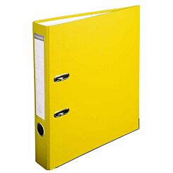 Exacompta Lever Arch File A4 PP 50mm Pack of 20 yellow