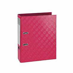 Exacompta 1928 PreTouch Lever Arch File A4 70mm Pack of 10 Raspberry
