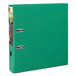 Exacompta PremTouch Lever Arch File A4 Plus PP 80mm Pack of 10 Green