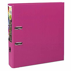Exacompta PremTouch Lever Arch File A4 Plus PP 80mm Pack of 10 Raspberry