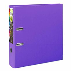 Exacompta PremTouch Lever Arch File A4 Plus PP 80mm Pack of 10 Purple