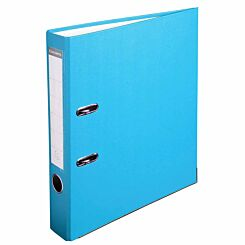 Exacompta Lever Arch File A4 PP 50mm Pack of 20 Light Blue