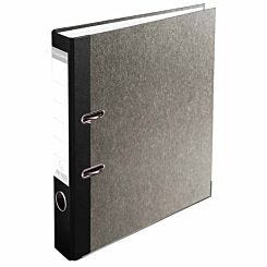 Exacompta PremTouch Lever Arch File A4 50mm Marbled Grey Pack of 20 Black