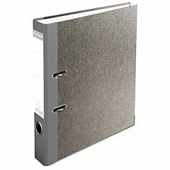 Exacompta PremTouch Lever Arch File A4 50mm Marbled Grey Pack of 20 Grey