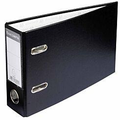Exacompta Lever Arch File A5 Landscape 70mm Pack of 10 Black