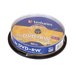 Verbatim DVD DVD+RW 10 Spindle