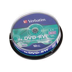 Verbatim DVD DVD-RW 10 Spindle