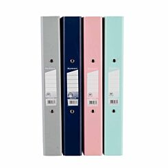 Ryman Pastel Ring Binder A4 Pack of 10 Assorted
