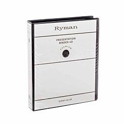 Ryman Presentation Ring Binder A4 4D Ring 38mm Black