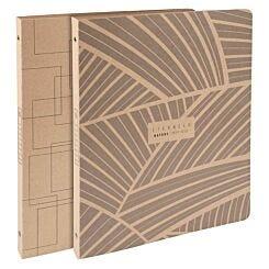 Exacompta Eterneco Ring Binder Cardboard A4 Assorted Pack of 10