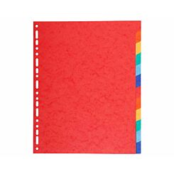 Exacompta Forever Dividers 12 Part A4 Plus 220gsm Pack of 25