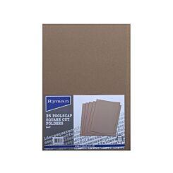 Ryman Folders Square Cut Foolscap Pack of 25