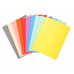 Exacompta Forever Square Cut Folders A4 5 Packs of 100 Assorted